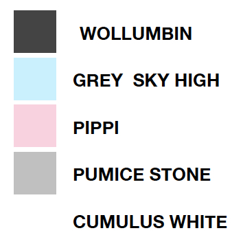 Pinky & Maurice Contemporary Ceramics Colour Swatch